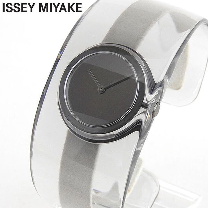 【送料無料】 ISSEY MIYAKE イッセイミヤケ 時計 O オー レディース 腕時計 ウォッチ SILAW002 クリア ブラック 国内正規品 商品到着後レビューを書いて7年保証