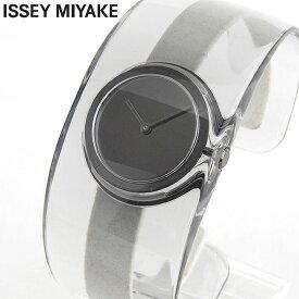 ISSEY MIYAKE イッセイミヤケ 時計 O オー レディース 腕時計 ウォッチ SILAW002 クリア ブラック 国内正規品 商品到着後レビューを書いて7年保証 誕生日プレゼント 女性 ギフト ブランド