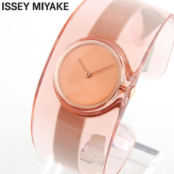 【送料無料】 ISSEY MIYAKE イッセイミヤケ 時計 O オー レディース 腕時計 ウォッチ SILAW003 クリア サクラ 国内正規品 商品到着後レビューを書いて7年保証