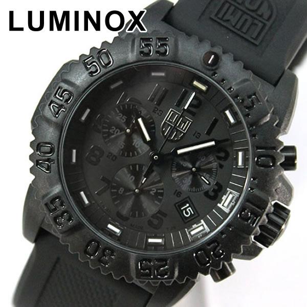 【送料無料】 LUMINOX ルミノックス 3081blackout Navy SEALs ネイビーシールズ カラーマークシリーズ ラバー ベルト 3050シリーズクロノグラフ T25表記あり 3081ブラックアウト ミリタリーウォッチ海外モデル メンズ 腕時計誕生日 ギフト