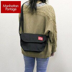 Manhattan Portage マンハッタンポーテージ CASUAL MESSENGER カジュアル メッセンジャーバッグ メンズ レディース 男女兼用 ママ おしゃれ 小さめ スモール ショルダーバッグ かばん カバン 鞄 1603 斜めがけ 軽い ナイロン 黒 ブラック 買い物