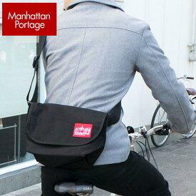 Manhattan Portage マンハッタンポーテージ CASUAL MESSENGER BAG 1605JR-BK メッセンジャーバッグ レディース 兼用 ショルダーバッグ メンズ 斜めがけ 黒 ブラック かばん 鞄 カバン アウトドア 旅行 買い物 デート ママ おしゃれ