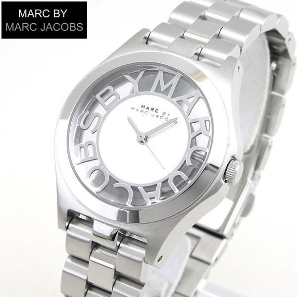 【送料無料】 マーク バイ マーク ジェイコブス MARC BY MARC JACOBS MARCJACOBS マークバイマーク MBM3291 ヘンリースケルトン Henry Skelton レディース 腕時計 時計 シルバー
