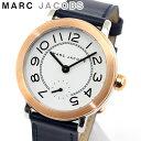 MARC JACOBS マークジェイコブス MJ1602 海外モデル レディース 腕時計 ウォッチ 革ベルト レザー アナログ ネイビー …