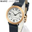 MARC JACOBS マークジェイコブス MJ1604 海外モデル レディース 腕時計 ウォッチ 革ベルト レザー アナログ ネイビー …