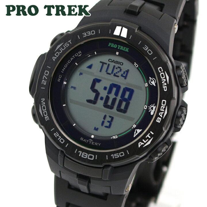 【送料無料】 CASIO カシオ PRO TREK プロトレック PRW-3100FC-1 メンズ 腕時計 メタル ウレタン 方位計測 気圧・高度計 タフソーラー ソーラー電波時計 デジタル 黒 ブラック 海外モデル