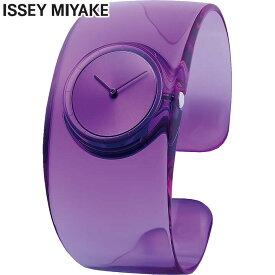 SEIKO セイコー ISSEY MIYAKE イッセイミヤケ O オー NY0W004 レディース 腕時計 クオーツ アナログ 紫 パープル バングル 誕生日プレゼント 女性 ギフト 国内正規品 商品到着後レビューを書いて7年保証