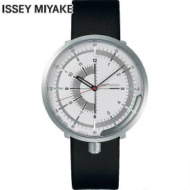 SEIKO セイコー ISSEY MIYAKE イッセイミヤケ メンズ 腕時計 機械式 メカニカル 自動巻き 牛皮革 カーフ 黒 ブラック 銀 シルバー 誕生日プレゼント 男性 ギフト NYAK004 国内正規品