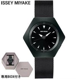 SEIKO セイコー ISSEY MIYAKE イッセイミヤケ ROKU ロク メンズ レディース 腕時計 時計 メタル 黒 ブラック 誕生日プレゼント 男性 女性 ギフト NYAM002 国内正規品 商品到着後レビューを書いて7年保証