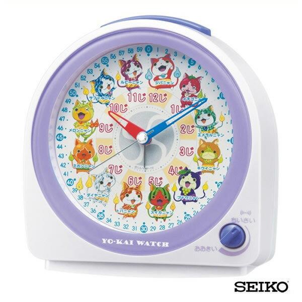 SEIKO セイコークロック キャラクター 妖怪ウォッチ CQ145W 国内正規品 キッズ 子供用 目覚まし めざまし 目覚し 置時計 誕生日プレゼント ギフト ブランド