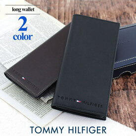 TOMMY HILFIGER トミーヒルフィガー Wellesley 31TL19X006 メンズ 長財布 二つ折り 黒 ブラック 茶 ブラウン 海外モデル 誕生日プレゼント 男性 ギフト ブランド