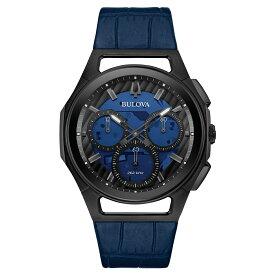 正規品 BULOVA ブローバ 98A232 カーブ プログレッシブ スポーツ クロノグラフ 腕時計