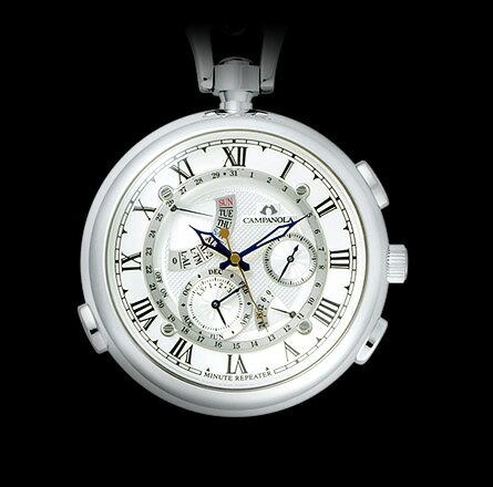 【正規品】 CITIZEN 【シチズン】 CAMPANOLA 【カンパノラ】 CTR57-1181 ミニッツ リピーター 懐中時計 【腕時計】