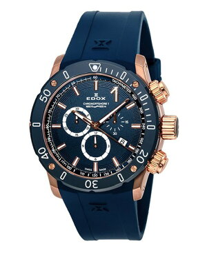 ※【正規品】EDOX【エドックス】10221-37RBU3-BUIR3クロノオフショア1クロノグラフクォーツ【腕時計】