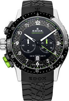 "EDOX  10305-3NV-NV ""Chronorally 1 Chronograph """