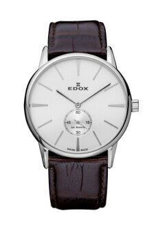 "EDOX  72014-3-AIN ""Les Bemonts Ultra Slim Hand Winding """