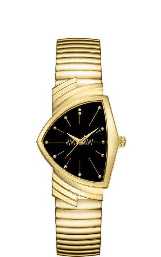 ※正規品 HAMILTON ハミルトン H24301131 ベンチュラ クォーツ 腕時計