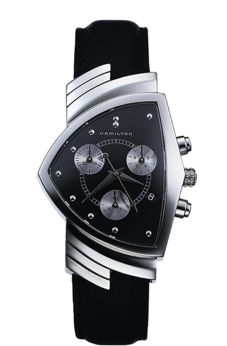 正規品 HAMILTON ハミルトン H24412732 Ventura Chrono Quartz ベンチュラ クロノ クォーツ 腕時計