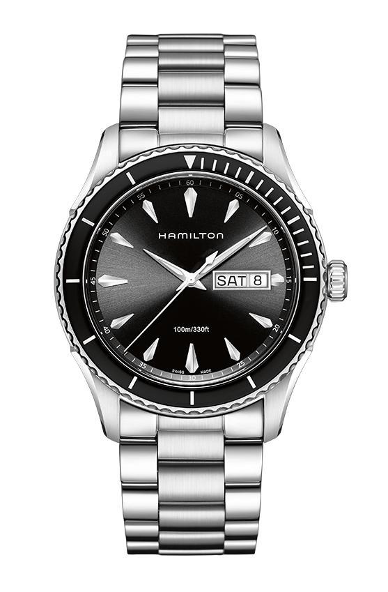 """【正規品】 HAMILTON 【ハミルトン】 H37511131 """"Jazzmaster Seaview Day Date Quartz 【ジャズマスター シービュー デイデイト クォーツ】"""" 【腕時計】"""