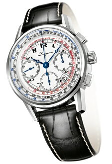 "LONGINES L2.781.4.13.2 ""Heritage/The Longines Tachymeter Chronograph"""