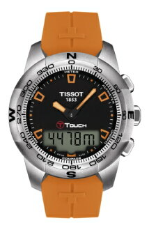 """TISSOT T047.420.17.051.01 """"TOUCH COLLECTION T-TOUCH II Stainless Steel"""""""