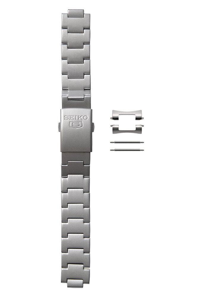 [セット商品] [SEIKO パッケージ] [新品] SEIKO 3304JZ SEIKO5 純正 ミリタリー用 18mm メタルベルト と ベルトピン2本 の2点セット [逆輸入品] [簡易パッケージ品]