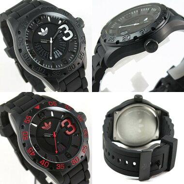 adidasアディダスNEWBURGHニューバーグメンズ腕時計シリコンラバー黒ブラック白ホワイト赤レッド青ブルーピンクゴールドADH2963ADH2965ADH3082ADH3112誕生日プレゼントギフト海外モデル
