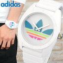 アディダス adidas オリジナルス originals サンティアゴ SANTIAGO メンズ レディース 白 ピンク 腕時計 時計 カジュ…