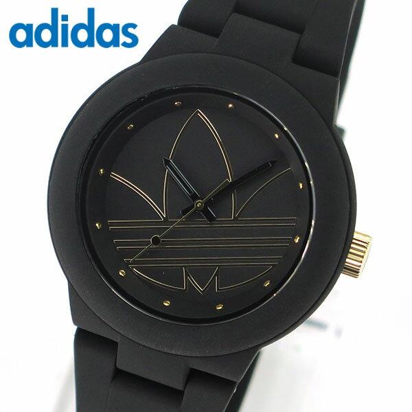 【送料無料】アディダス かわいい 時計 黒 ブラック ゴールド ランニング adidas originals ADH3013 アバディーン ABERDEEN レディース 腕時計 ペアにも 誕生日プレゼント 女性 ギフト