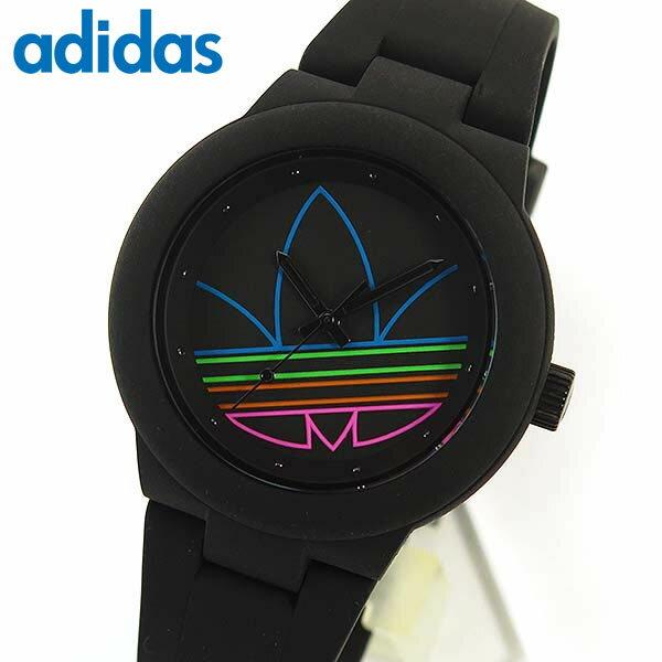 adidas アディダス ランニング adidas originals ABERDEEN アバディーン ADH3014 海外モデル レディース 腕時計 時計 シリコン ラバー バンド 黒 ブラック【あす楽対応】 誕生日プレゼント 女性 ギフト