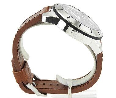 adidasアディダスSUPERSTARスーパースターADH3038海外モデルメンズ男性用腕時計ウォッチ革バンドレザー黒ブラック茶ブラウン
