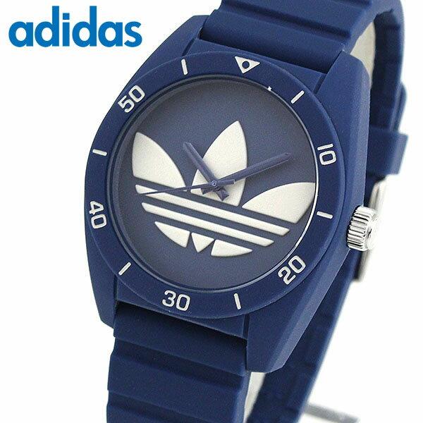 adidas アディダス SANTIAGO サンティアゴ ADH3138 海外モデル メンズ 腕時計 ウォッチ シリコン ラバー バンド クオーツ アナログ 青 ネイビー 誕生日プレゼント 男性