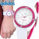 adidas アディダス かわいい 時計 白 ピンク stan amith スタンスミス レディース 腕時計 防水 ADH3188 海外モデル ウ…