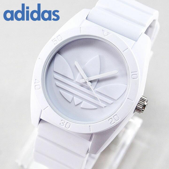 アディダス ランニング adidas originals 腕時計時計 ペア サンティアゴ SANTIAGO ADH6166 白 ホワイト メンズ レディース ユニセックス 腕時計 海外モデル 誕生日プレゼント 女性 男性 ギフト 誕生日プレゼント 女性 ギフト