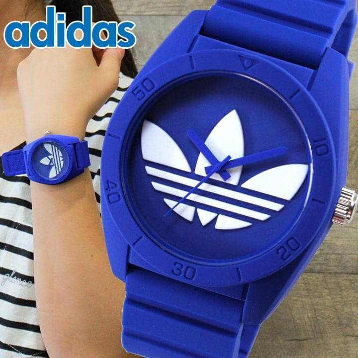 アディダス ランニング adidas originals 腕時計時計 ペア サンティアゴ SANTIAGO ADH6169 ブルー メンズ レディース ユニセックス 腕時計 海外モデル 誕生日プレゼント 女性 ギフト 男性 ギフト 男性 女性 ギフト