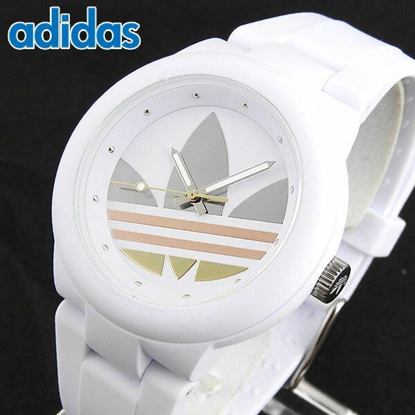 【送料無料】adidas アディダス ランニング ABERDEEN アバディーン ADH9084 海外モデル メンズ レディース 腕時計 時計 白 ホワイト ピンクゴールド シルバー 誕生日プレゼント ギフト