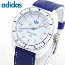 【送料無料】adidas アディダス stan smith スタンスミス 白 青 メンズ レディース 腕時計 防水 男女兼用 ユニセックス ホワイト ブルー ADH9087 海外モデル 誕生日プレゼン