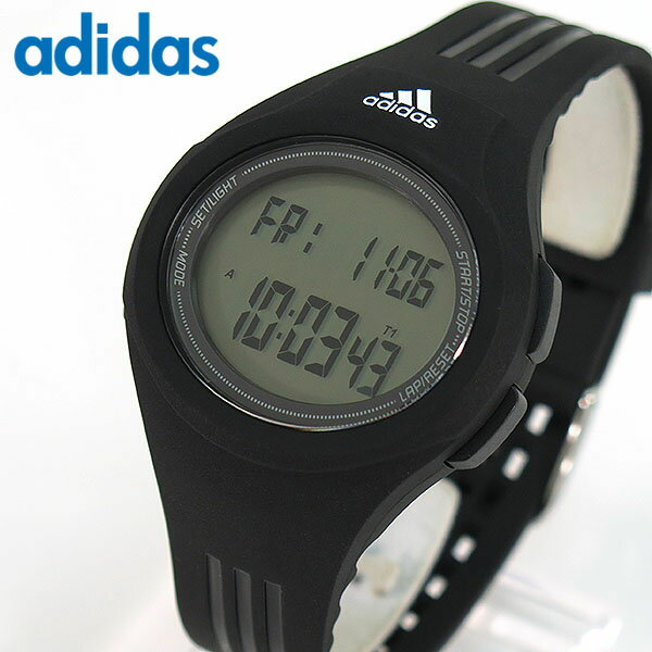 【送料無料】adidas アディダス ランニング Performance パフォーマンス URAHA ウラハ ADP3159 海外モデル メンズ レディース 腕時計 男女兼用 ユニセックス デジタル 黒 ブラック スポーツ 誕生日プレゼント ギフト