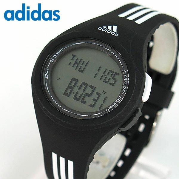 【送料無料】adidas アディダス ランニング URAHA ウラハ Performance パフォーマンス デジタル 黒 白 メンズ レディース 腕時計 ブラック×ホワイト スポーツ ADP3174 海外モデル 誕生日プレゼント ギフト