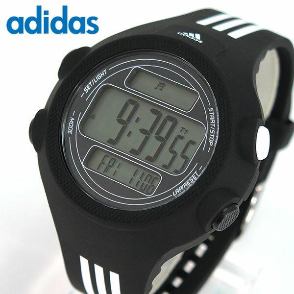 adidas アディダス Performance パフォーマンス QUESTRA クエストラ ADP6081 海外モデル メンズ 腕時計 デジタル ウォッチ 黒 ブラック ランニング スポーツ 誕生日プレゼント 男性 ギフト