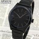 【BOX訳あり】【送料無料】 ARMANI EXCHANGE アルマーニ エクスチェンジ AX2322 メンズ 腕時計 メタル 黒 ブラック 誕生日プレゼント 男性 ギフト 海外モデル