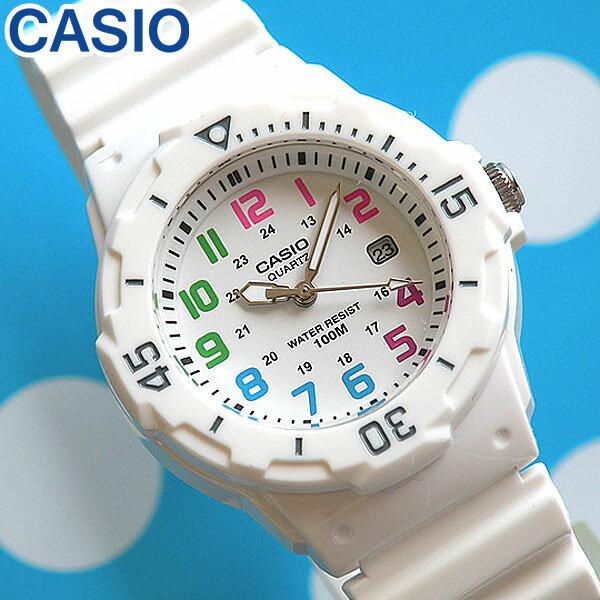 【3ヶ月保証】CASIO チープカシオ チプカシ スタンダード 腕時計 時計 おしゃれ かわいい LRW-200H-7B海外モデル 白 ホワイト レディース カジュアル ウォッチ スポーツ デザイン 海外モデル チープカシオ チプカシ 誕生日プレゼント 女性 ギフト キッズ
