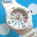 【3ヶ月保証】CASIO チープカシオ チプカシ スタンダード 腕時計 時計 LRW-200H-7B海外モデル 白 ホワイト レディース…