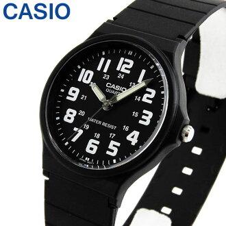 de CASIO chipukashiochipukashisutandado MQ-71-1B黑黑色白人分歧D手錶鐘表模擬海外型號樂天卡分割