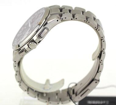 CITIZENシチズンATTESAアテッサメンズ腕時計時計電波ソーラーAT8040-57E黒ブラックエコ・ドライブ電波時計ダイレクトフライト誕生日ギフト