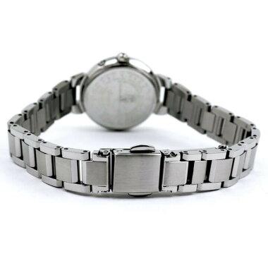 シチズンクロスシーエコドライブ電波ハッピーフライト腕時計レディースシルバーネイビー見やすいCITIZENxCES9430-54L国内正規品成人祝い誕生日プレゼント女性彼女女友達ギフトブランド新社会人時計