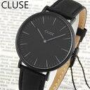 ★送料無料 CLUSE クルース La Boheme ラ・ボエーム CL18501 38mm 海外モデル レディース 腕時計 ウォッチ 革ベルト …
