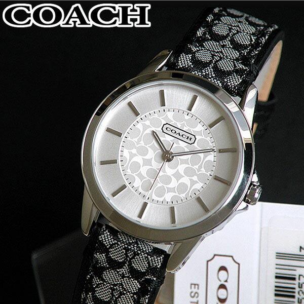 【送料無料】COACH コーチ 14501524 Classic Signature クラシックシグネチャー レディース 腕時計 時計 ブランド レザーバンド 誕生日プレゼント 女性 ギフト