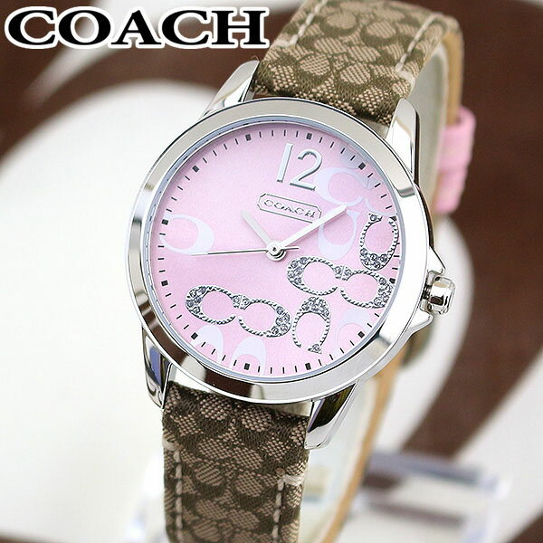 【送料無料】COACH コーチ NEW CLASSIC SIGNATURE ニュー クラシック シグネチャー 14501621 海外モデル レディース 女性用 腕時計 ウォッチ 誕生日プレゼント 女性 ギフト