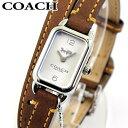 COACH コーチ LUDLOW ラドロー 14502775 レディース 腕時計 革ベルト レザー シルバー ブラウン 茶色 誕生日プレゼン…